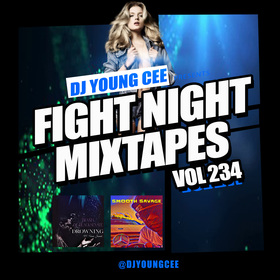 Dj Young Cee Fight Night Mixtapes Vol 234 Dj Young Cee front cover