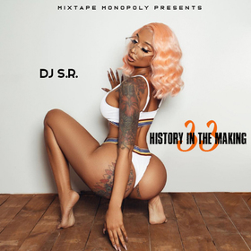 History In The Making 33 DJ S.R. front cover