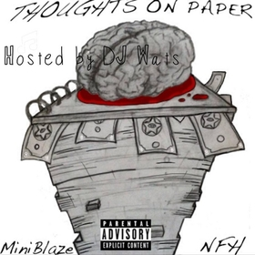 Thoughts On Paper MiniBlaze front cover