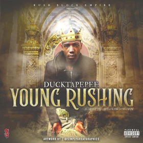 Young Rushing DuckTapePee front cover