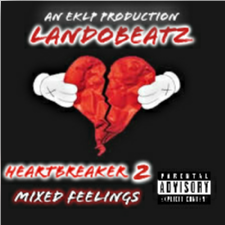 HeartBreaker 2: Mixed Feelings LandoBeatz front cover
