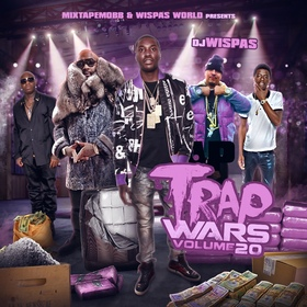 Trap Wars Vol. 20 DJ Wispas front cover