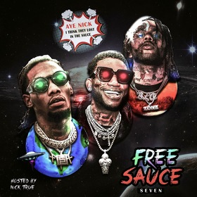 Free Sauce 7 DJ Nick True front cover