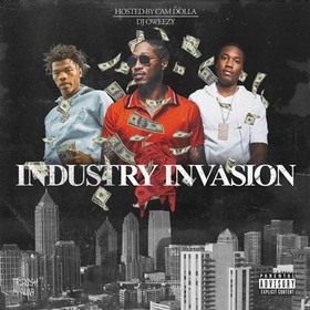 Industry Invasion 2 DJ Tony Tone front cover