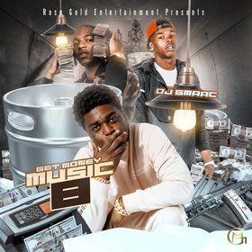 Get Money Music 8 DJ GMAAC front cover