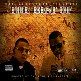 Best of Jay Z & Nas  DJ Papito front cover