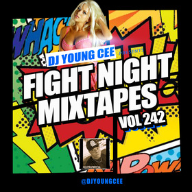 Dj Young Cee Fight Night Mixtapes Vol 242 Dj Young Cee front cover