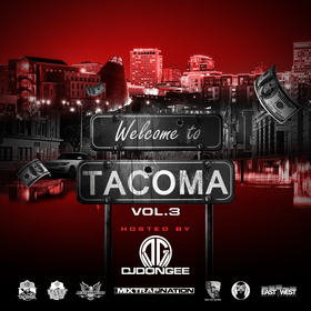 Welcome to Tacoma Vol.3 DJ Don Gee front cover