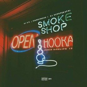 Hookah Highlife 17 DJ S.R. front cover