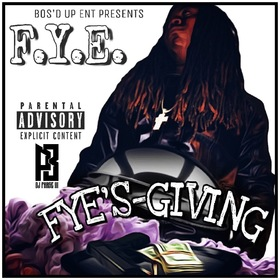 Fyesgiving F.Y.E. front cover