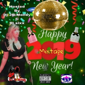 HAPPY NEW YEAR 2019 MIXTAPE Various Artist front cover