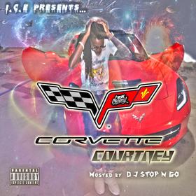 Cool Courtney (Corvette Courtney) DJ Stop N Go front cover