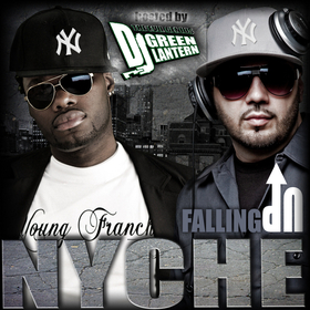 FALLING UP NYCHE front cover