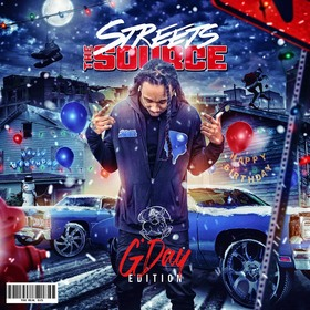 The Streets Source (G' Day Edition) DJ Young Shawn front cover