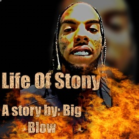 Life of Stony Big Blow front cover