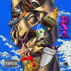 D.N.A. Lil Freaky front cover