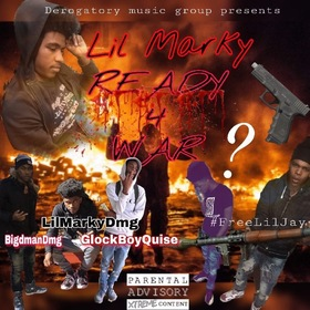 Ready 4 War LilMarky front cover