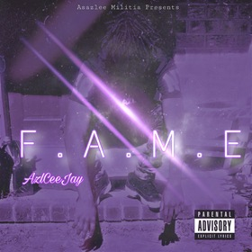 AzlCeeJay - F. A. M. E (Fuck All My Enemies) king koopA front cover