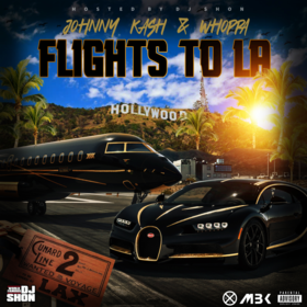 Flights To LA Johnny Kash & Whoppa front cover