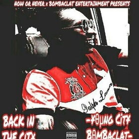 Back In The City EP YongCity Bombaclat front cover