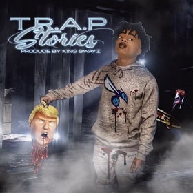 T.R.A.P-Stories king koopA front cover