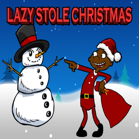 Lazy Stole Christmas Lazy3x front cover