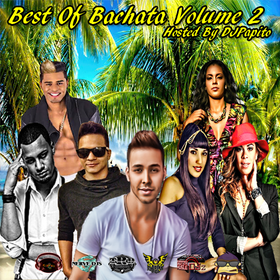 Best Of Bachata Volume 2  DJ Papito front cover