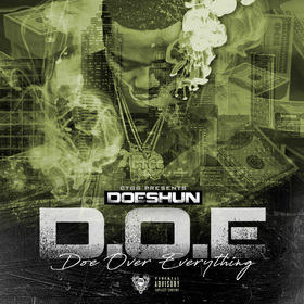 Doe Over Everything Doeshun front cover
