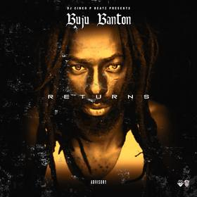 Buju Banton Returns Vol 1 DJ Cinco P Beatz front cover