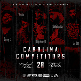 Carolina Competitors 28 ( Highrisk Edition ) DJ DERRICK GEETER front cover