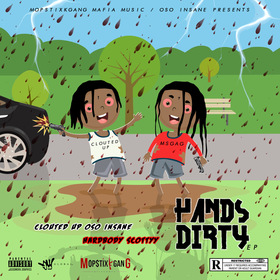 Hands Dirty EP Hardbody Scottyy front cover