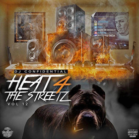 Heat For The Streetz, Vol. 12 Dj Confidential front cover