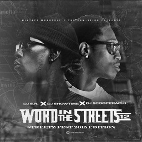 Word In The Streets 12 (Streetz Fest & 420 Edition) DJ S.R. front cover