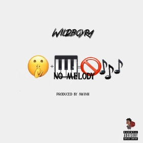 No Melody WildBoyRa front cover