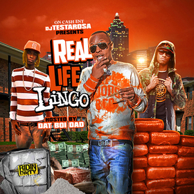 Real Life Lingo (Hosted by Dat Boi Dad) DJ Testarosa front cover