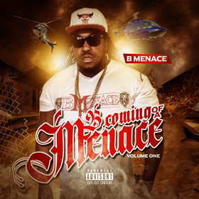 B.Coming Of A Menace Volume 1 B Menace front cover