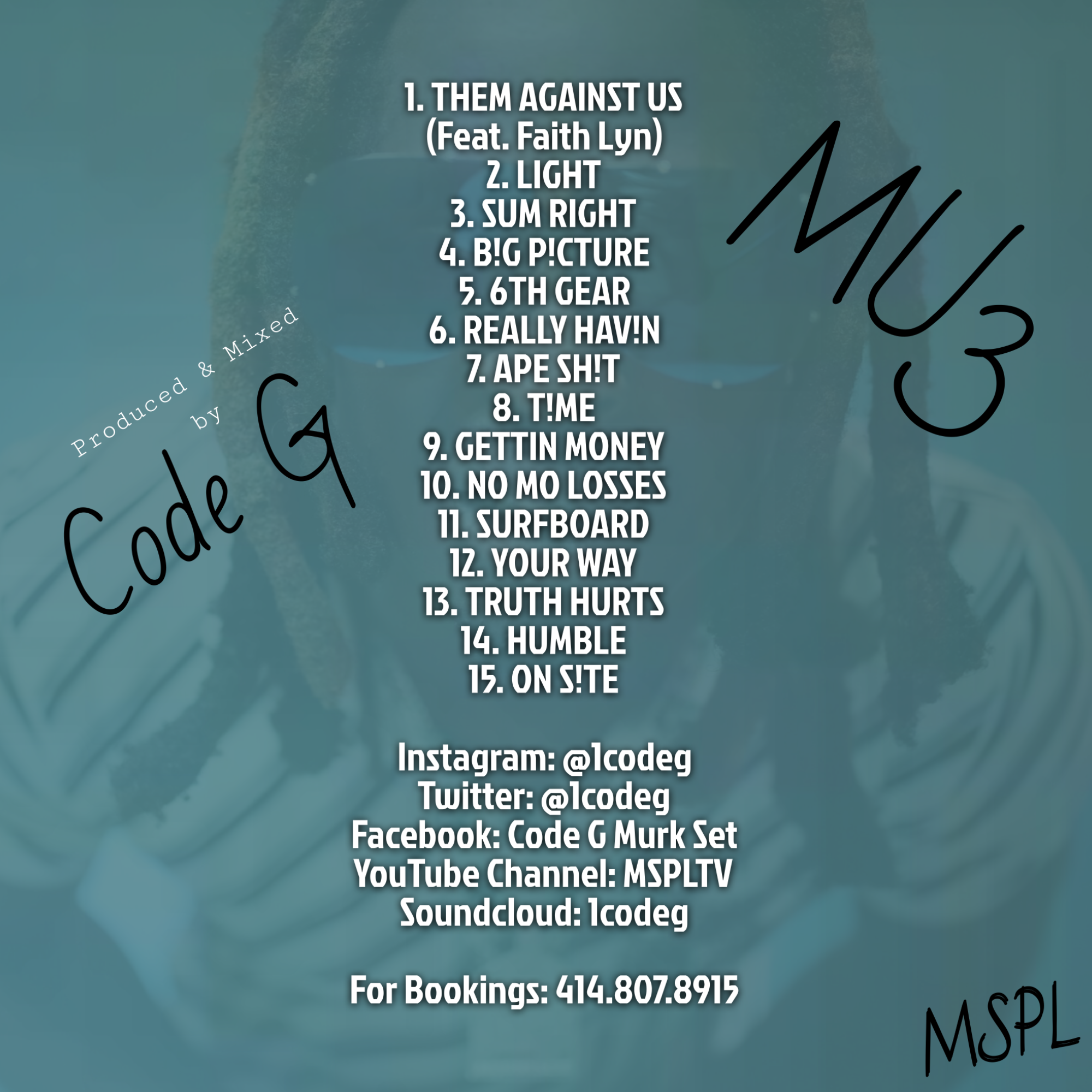 Code G - mostunderrated 3 | Spinrilla
