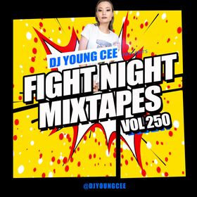 Dj Young Cee Fight Night Mixtapes Vol 250 Dj Young Cee front cover