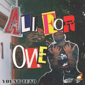 YOUNGTEVO - ALL FOR ONE TRAPHOUSEKITCHEN front cover