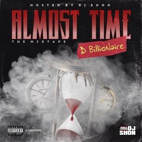 Almost Time DBillioNaire front cover