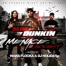 Menace II Society Slim Dunkin front cover