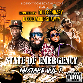 State Of Emergency (vol 1) Dj Legendary front cover