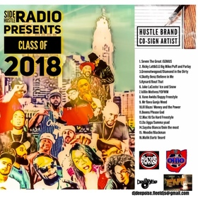 SIDE HUSTLE RADIO CLASS OF 2018 DJ DEE-POISE front cover
