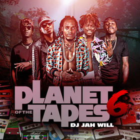Planet Of The Tapes 6 DJ Jah Will front cover
