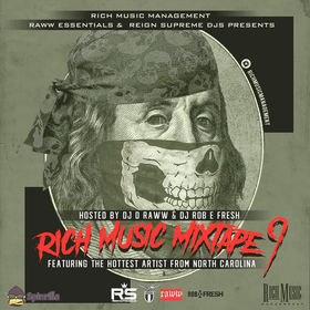 Rich Music Mixtape 9 Rich Music Management front cover
