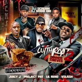 Cut Throat 2 (Dinner Thieves) Juicy J front cover