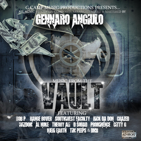 The Vault Gennaro Angiulo front cover