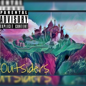 TheOfficialKing - Outsiders LandoBeatz front cover