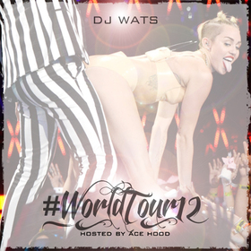 World Tour 12  DJ Wats front cover