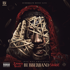 Rubberband Savage Johnny Blaze front cover